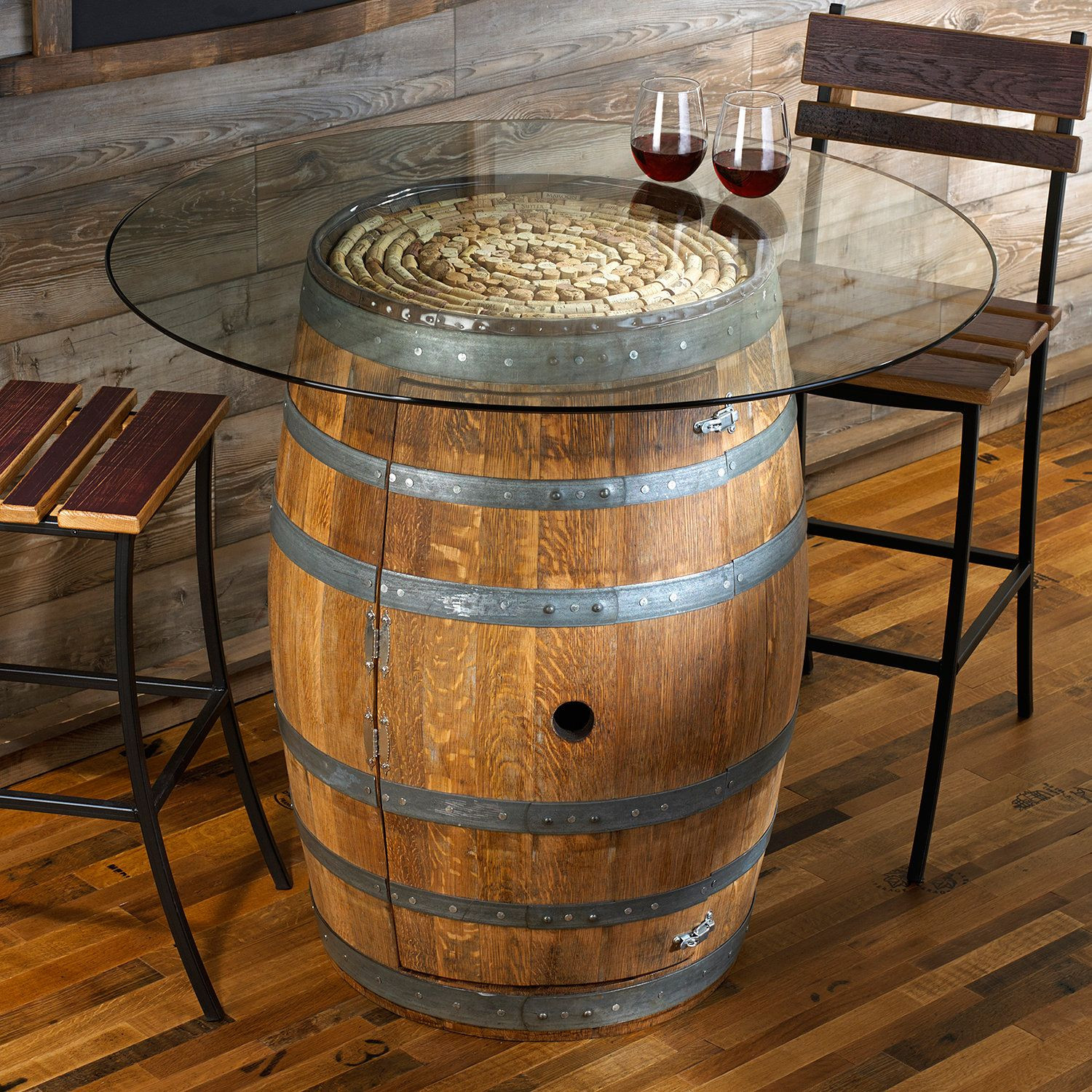 Best ideas about DIY Wine Barrel Table . Save or Pin Reclaimed Barrel Dining Table Now.