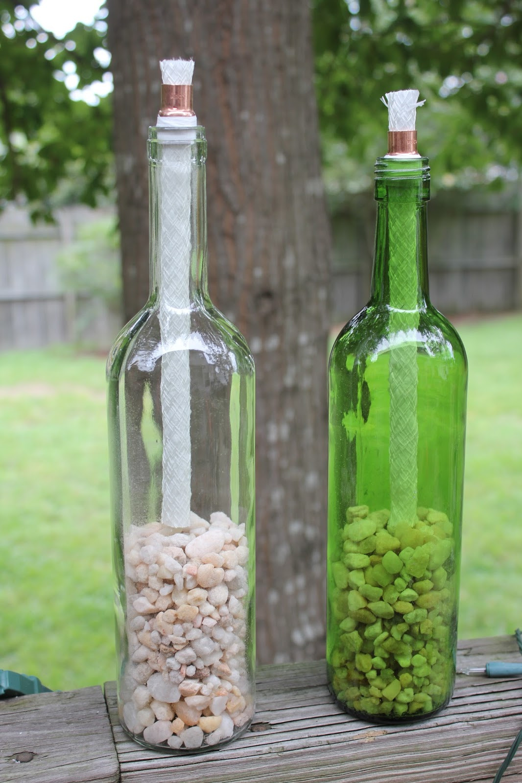 Best ideas about DIY Wine Bottle . Save or Pin Magnolia & Main DIY Wine Bottle TIki Torches Now.