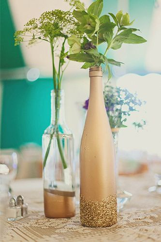 Best ideas about DIY Wine Bottle Centerpieces . Save or Pin 137 best Wedding Trends Mason Jars Bottles and Old Now.