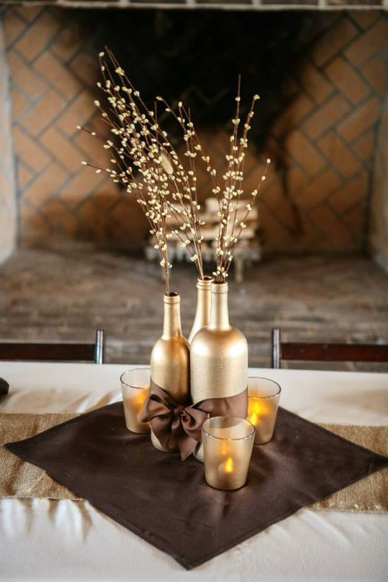 Best ideas about DIY Wine Bottle Centerpieces . Save or Pin Best 25 Wine bottle centerpieces ideas on Pinterest Now.