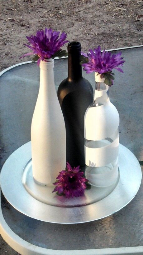 Best ideas about DIY Wine Bottle Centerpieces . Save or Pin 25 best Wine bottle centerpieces ideas on Pinterest Now.