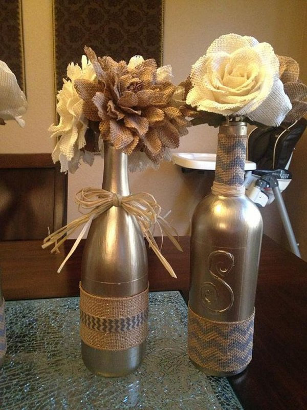 Best ideas about DIY Wine Bottle Centerpieces . Save or Pin 31 Beautiful Wine Bottles Centerpieces Perfect For Any Table Now.