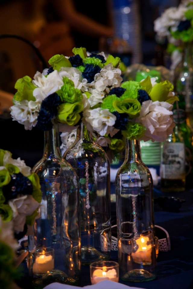 Best ideas about DIY Wine Bottle Centerpieces . Save or Pin Diy Wine Bottle Centerpieces Now.