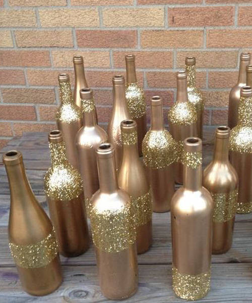 Best ideas about DIY Wine Bottle Centerpieces . Save or Pin 10 Wine Bottle Centerpieces For Your Wedding Now.