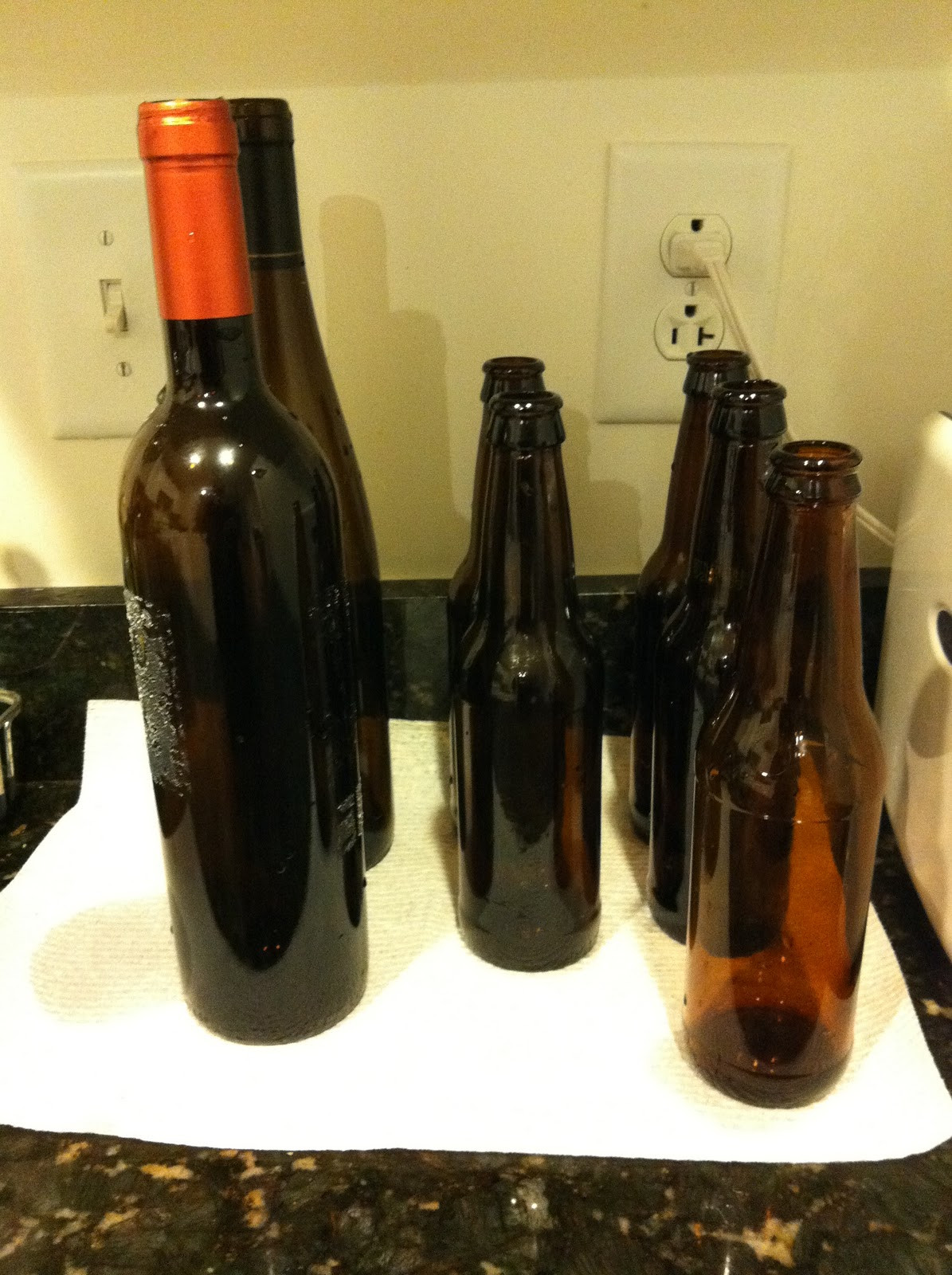 Best ideas about DIY Wine Bottle . Save or Pin Pieces of Anna DIY Wine and Beer Bottle Vases Now.