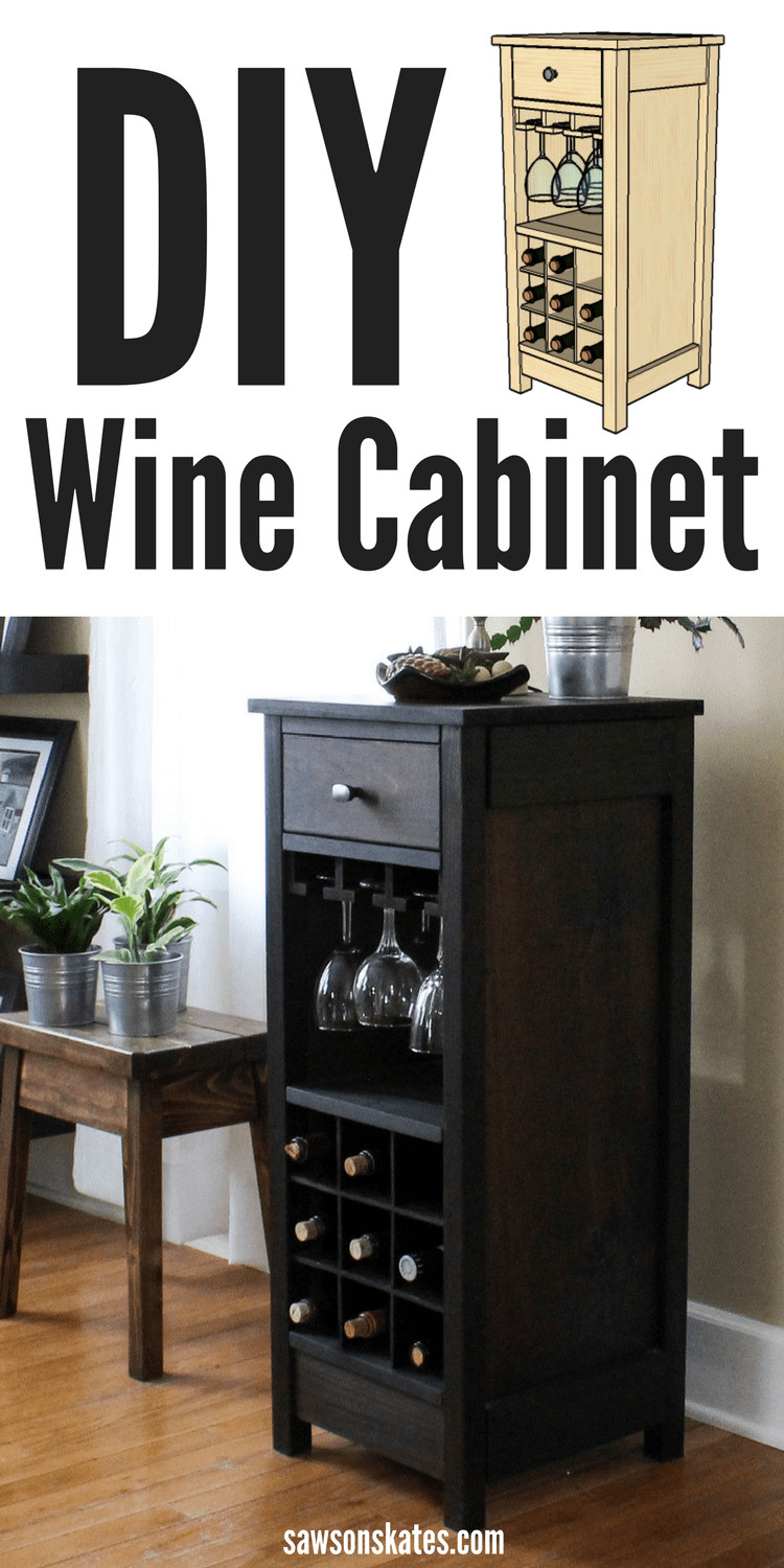 Best ideas about DIY Wine Cabinet . Save or Pin DIY Wine Cabinet Displays Entertaining Essentials Now.