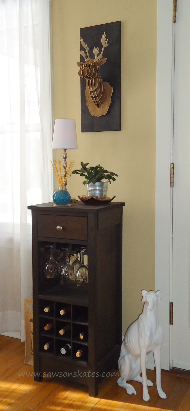 Best ideas about DIY Wine Cabinet . Save or Pin How to Build a DIY Wine Cabinet Now.