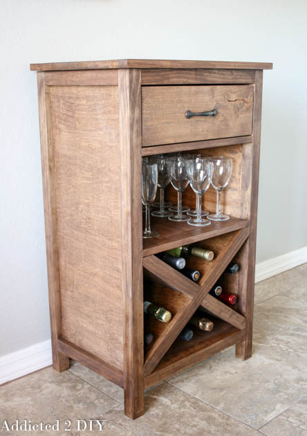Best ideas about DIY Wine Cabinet . Save or Pin DIY Wine Cabinet With Printable Plans Addicted 2 DIY Now.