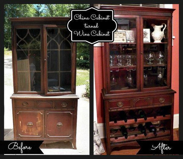 Best ideas about DIY Wine Cabinet . Save or Pin 15 Cool and Bud DIY Wine Bars 2017 Now.