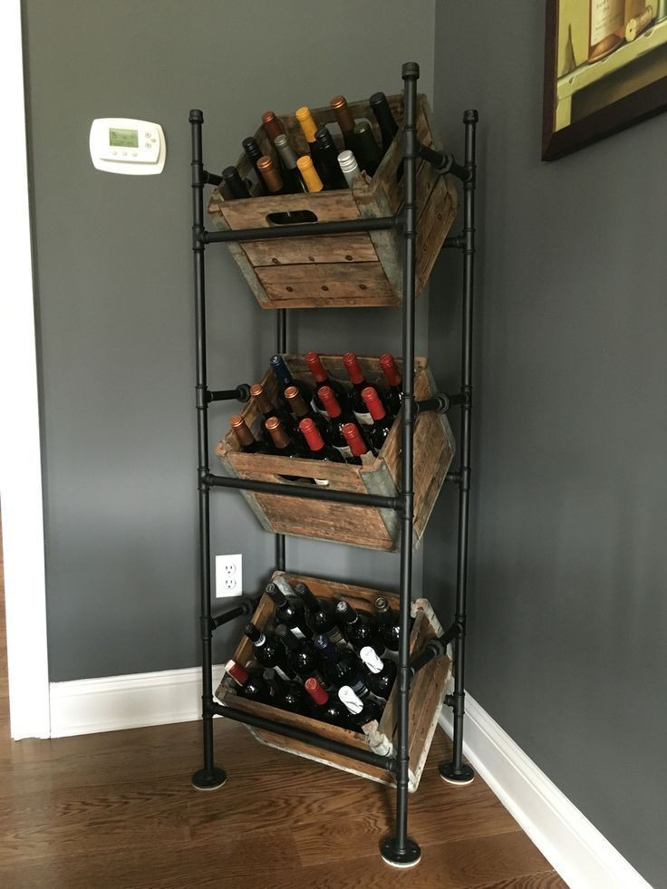 Best ideas about DIY Wine Cabinet . Save or Pin 25 best Diy wine racks ideas on Pinterest Now.