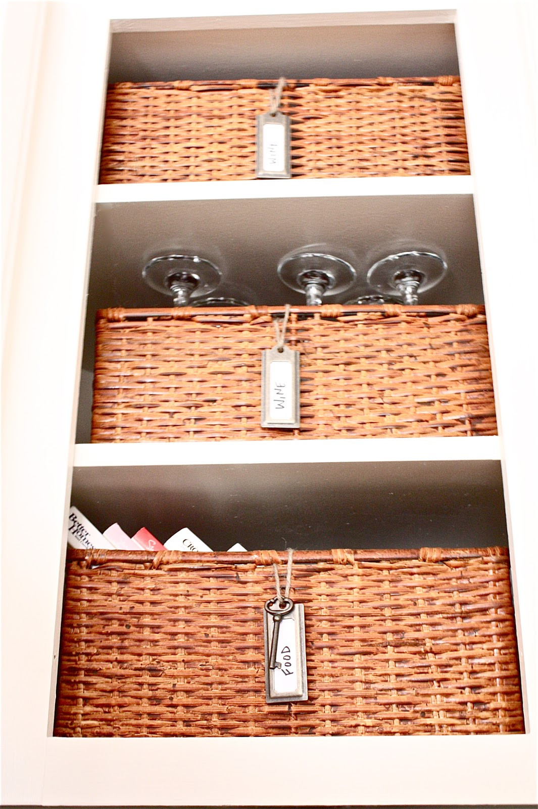 Best ideas about DIY Wine Cabinet . Save or Pin The Yellow Cape Cod DIY Wine Cabinet Easiest Wine Storage Now.