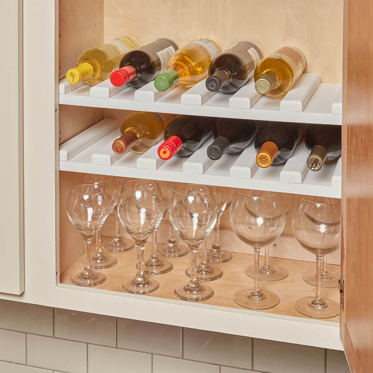 Best ideas about DIY Wine Cabinet . Save or Pin Easy to Make Wine Rack — The Family Handyman Now.