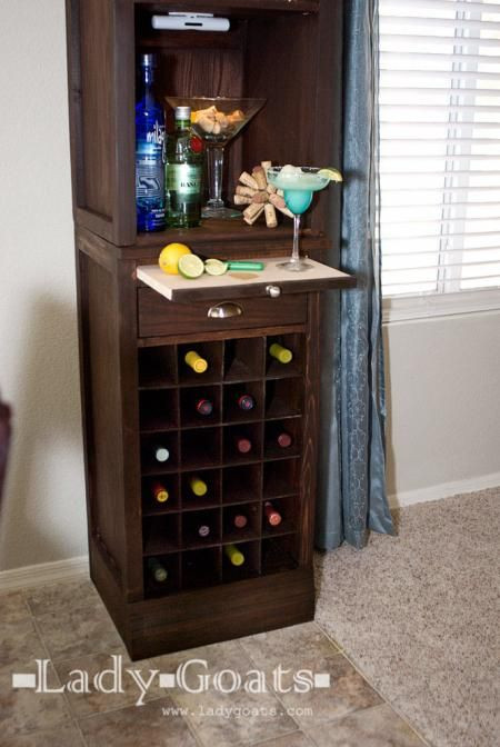 Best ideas about DIY Wine Cabinet . Save or Pin Simple Wine Rack Plans Free WoodWorking Projects & Plans Now.