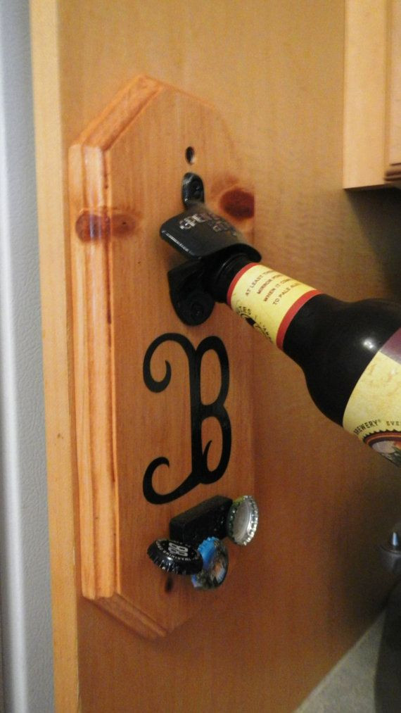 Best ideas about DIY Wine Opener . Save or Pin Wall Mount Bottle Opener With Magnetic Cap Catcher and Now.