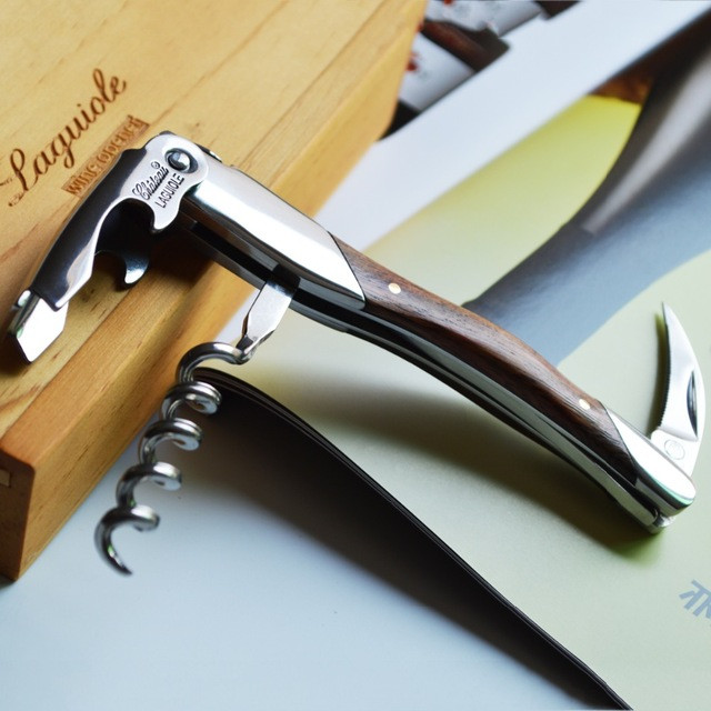 Best ideas about DIY Wine Opener . Save or Pin Christmas Gift Laguiole Wooden Wine Corkscrew Opener Now.