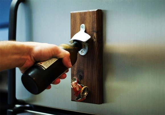 Best ideas about DIY Wine Opener . Save or Pin How to Make a Wooden Magnetic Bottle Opener Now.