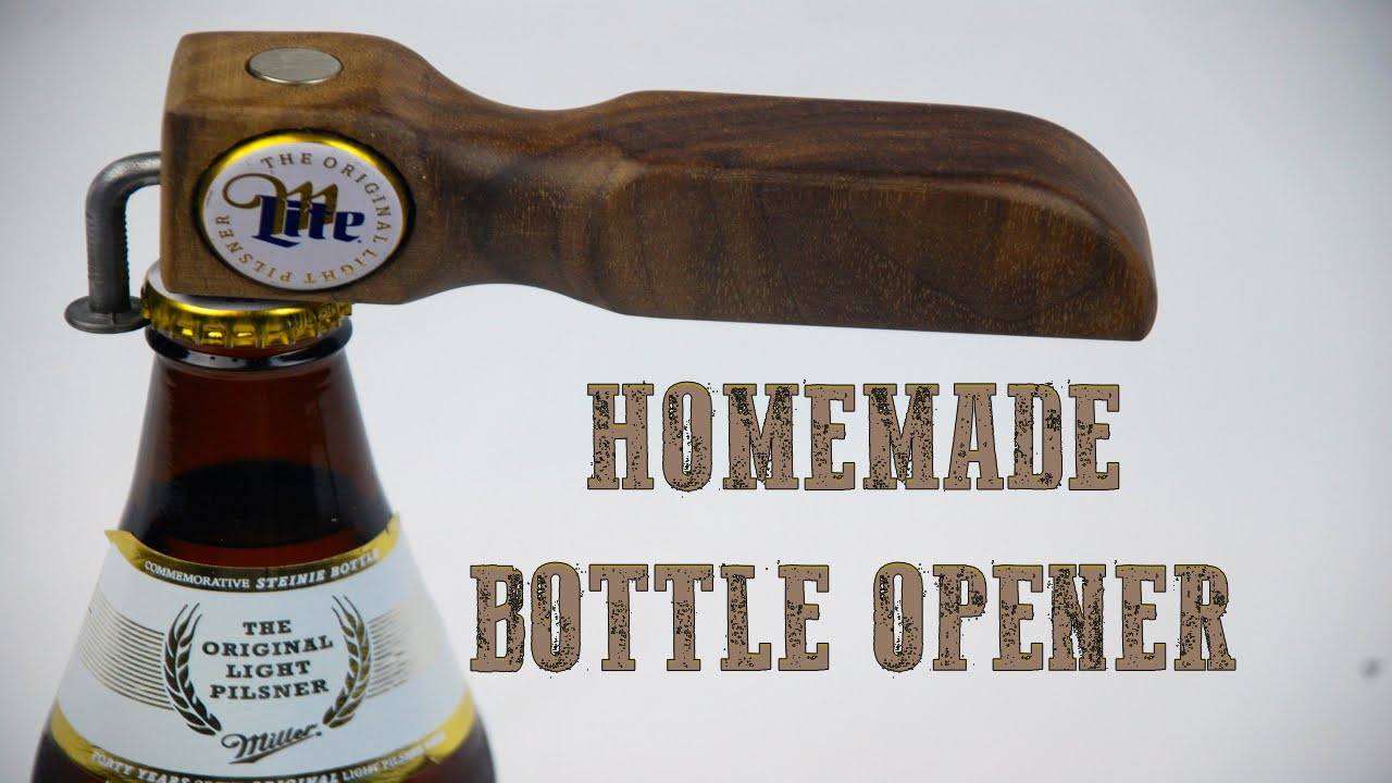 Best ideas about DIY Wine Opener . Save or Pin How to Make a Homemade Bottle Opener Now.
