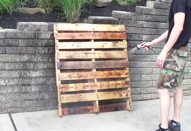 Best ideas about DIY Wine Rack Pallet . Save or Pin DIY Wood Pallet Wine Rack Now.