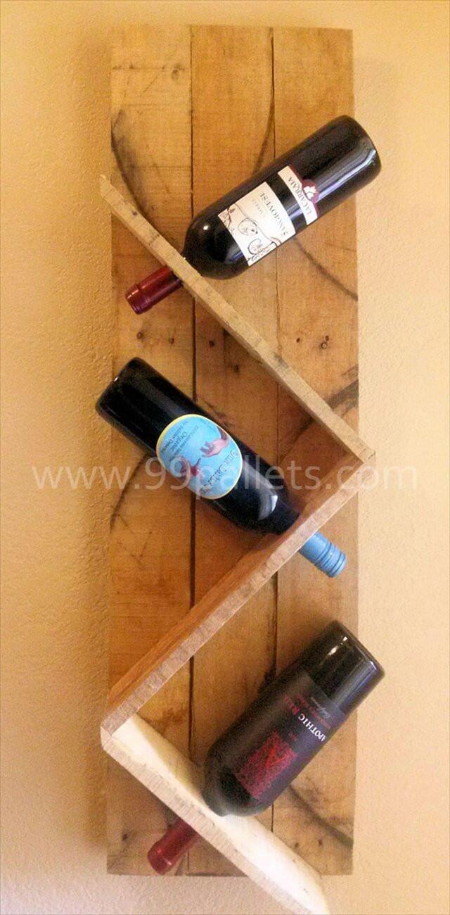 Best ideas about DIY Wine Rack Pallet . Save or Pin DIY Unique Pallet Wine Rack Now.