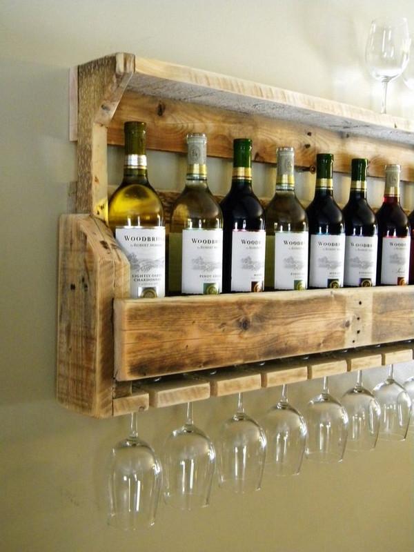 Best ideas about DIY Wine Rack Pallet . Save or Pin DIY pallet wine rack – instructions and ideas for racks Now.