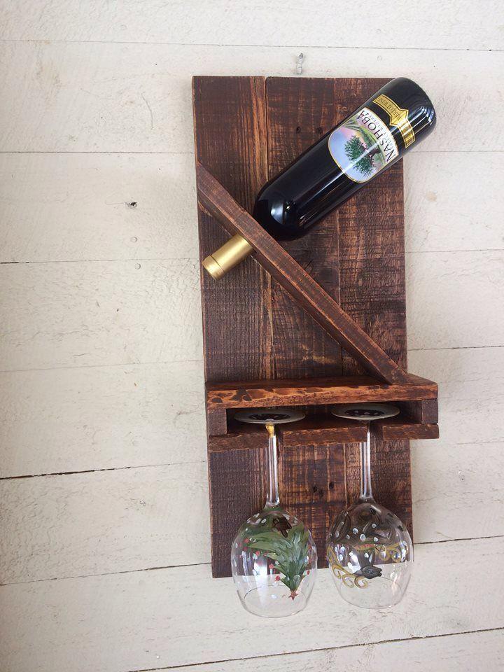 Best ideas about DIY Wine Racks Plan . Save or Pin Pin de Robyn MacGillivray em Pallet Rescue Now.