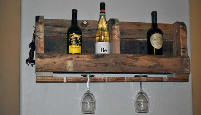 Best ideas about DIY Wine Racks Plan . Save or Pin How to Make a Pallet WIne Rack with DIY PETE Now.