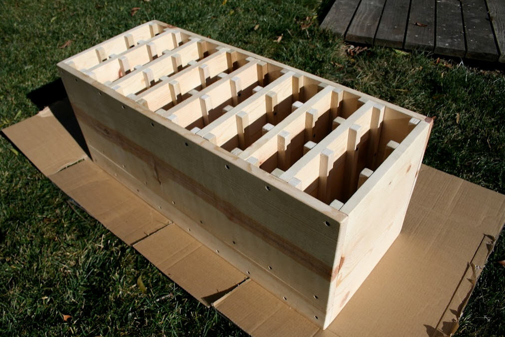 Best ideas about DIY Wine Racks Plan . Save or Pin Diy Wine Rack Plans woodworking techniques joints Now.