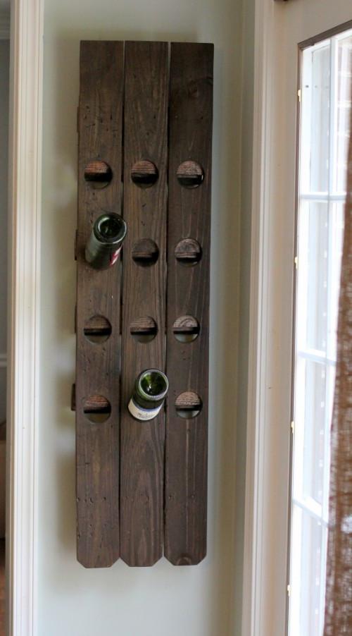 Best ideas about DIY Wine Racks Plan . Save or Pin 14 Easy DIY Wine Rack Plans Now.