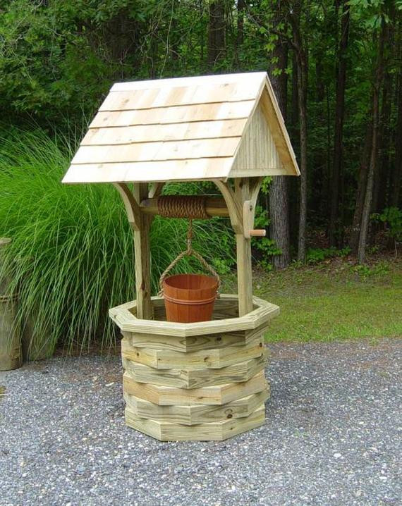 Best ideas about DIY Wishing Well Plans . Save or Pin 6 ft Wishing Well Plans Illustrated with s by johnmarc33 Now.
