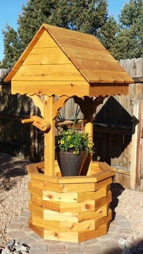 Best ideas about DIY Wishing Well Plans . Save or Pin Diy wishing well planter my projects in 2019 Now.