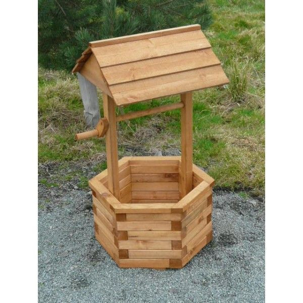 Best ideas about DIY Wishing Well Plans . Save or Pin Wooden Wishing Wells Now.