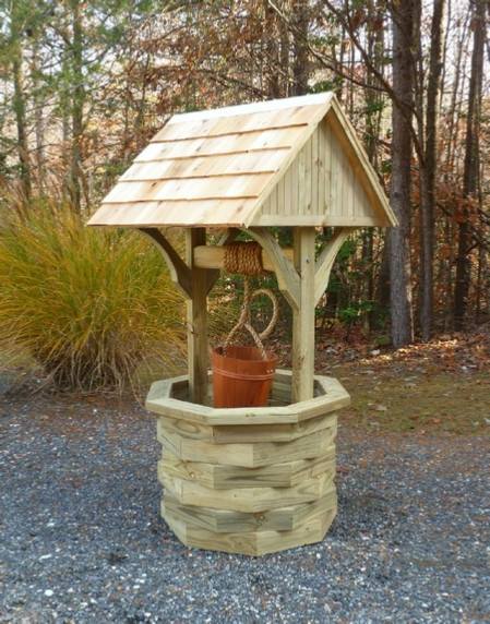 Best ideas about DIY Wishing Well Plans . Save or Pin Wishing Well Plans How to Build a 6 ft Wishing Well Now.