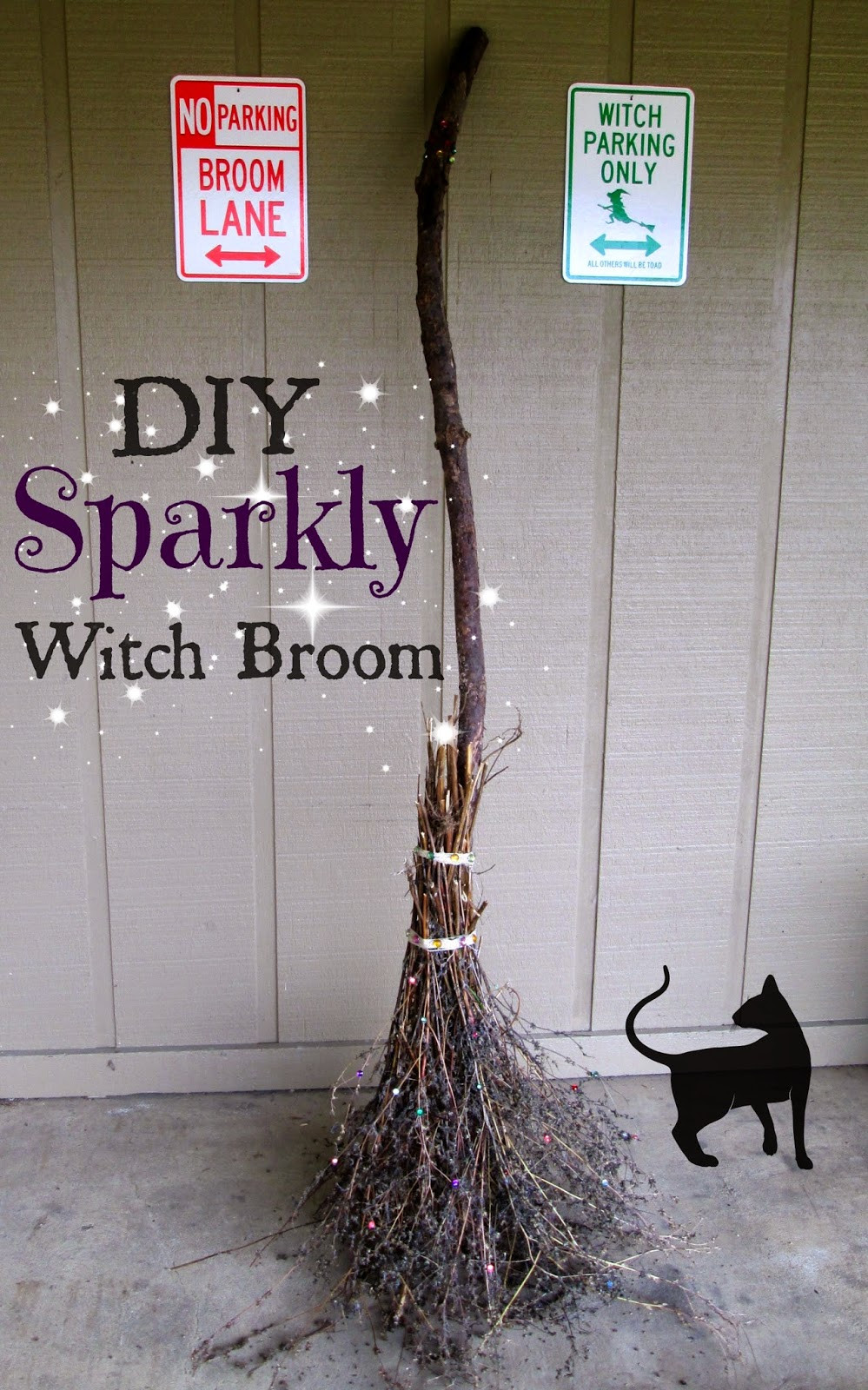Best ideas about DIY Witch Broomstick . Save or Pin 23 Festive Halloween Witch Decor DIY Ideas Now.
