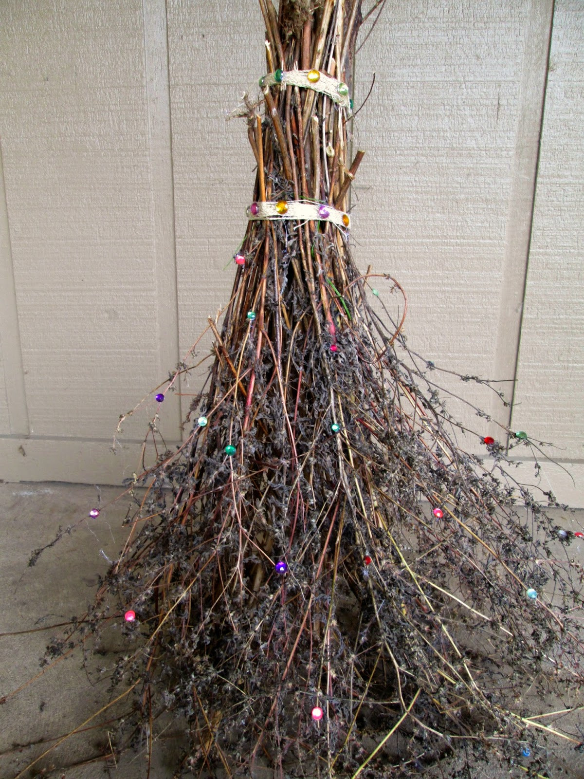 Best ideas about DIY Witch Broomstick . Save or Pin THE REHOMESTEADERS DIY Sparkly Witch Broom Now.