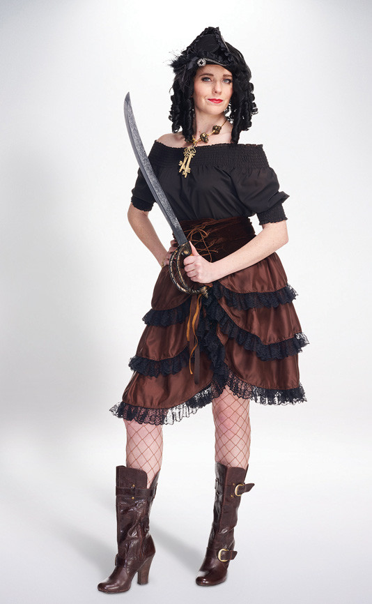 Best ideas about DIY Woman Pirate Costume . Save or Pin Women s Pirate Costume Womens Halloween Costumes Now.