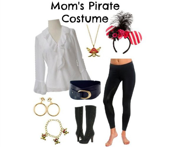 Best ideas about DIY Woman Pirate Costume . Save or Pin How To Dress For Pirate Night A Disney Cruise Now.