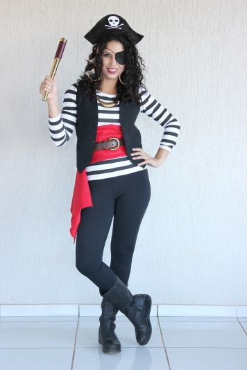 Best ideas about DIY Woman Pirate Costume . Save or Pin How to make a pirate costume … Now.