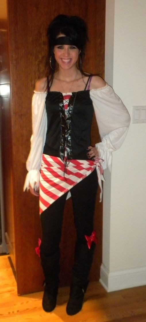 Best ideas about DIY Womens Halloween Costume Ideas . Save or Pin homemade women pirate costume ideas Google Search Now.