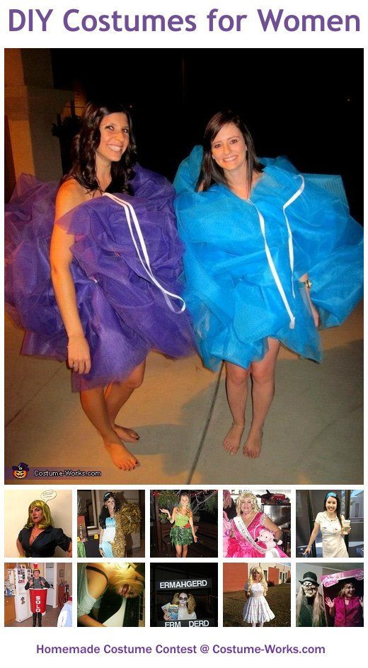Best ideas about DIY Womens Halloween Costume Ideas . Save or Pin Homemade Costumes for Women Now.