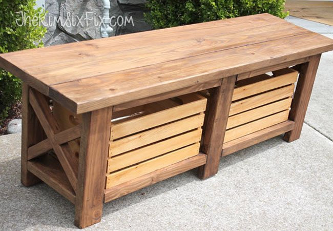 Best ideas about DIY Wood Bench . Save or Pin DIY Storage Bench 5 Ways to Build e Bob Vila Now.