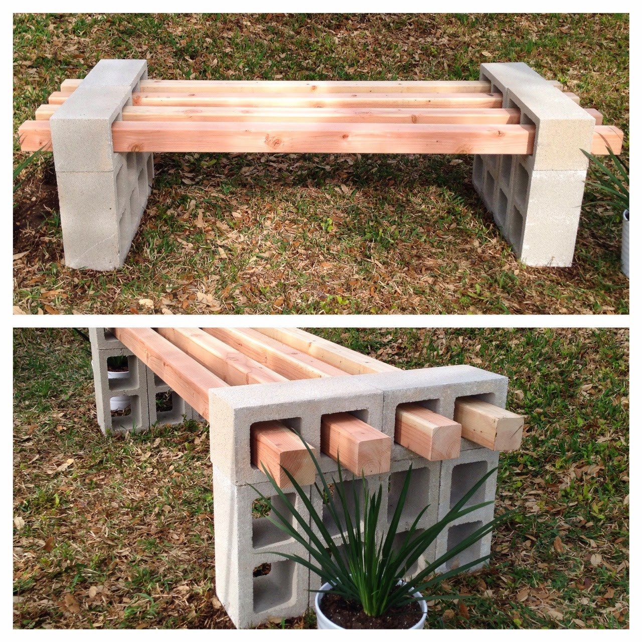 Best ideas about DIY Wood Bench . Save or Pin 20 Awesome DIY Cinder Block Projects For Your Homestead Now.