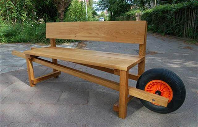 Best ideas about DIY Wood Bench . Save or Pin 11 DIY Outdoor Table And Bench Design Now.