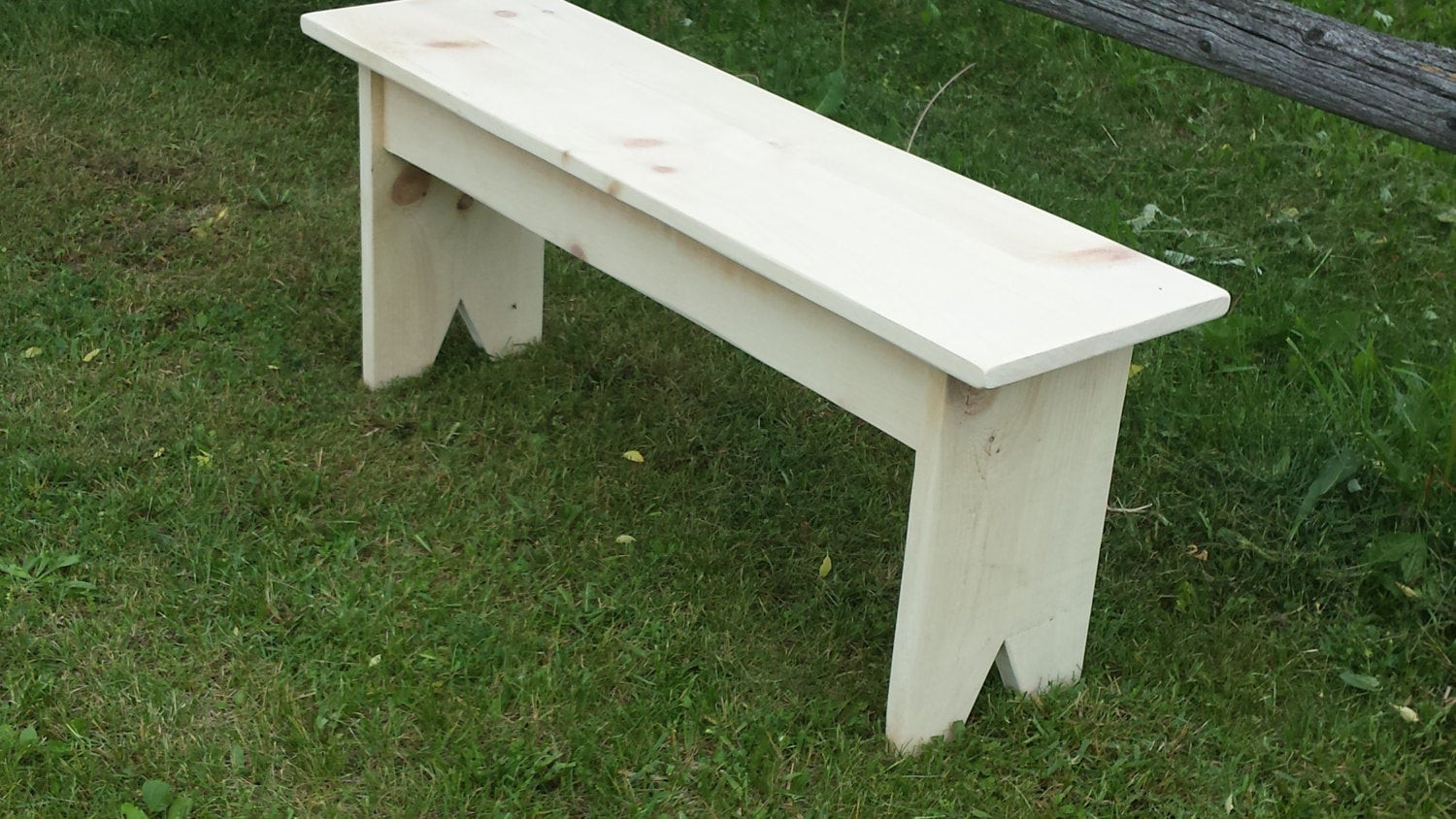 Best ideas about DIY Wood Bench . Save or Pin Pine Bench Unfinished Wood Bench DIY Bench Now.