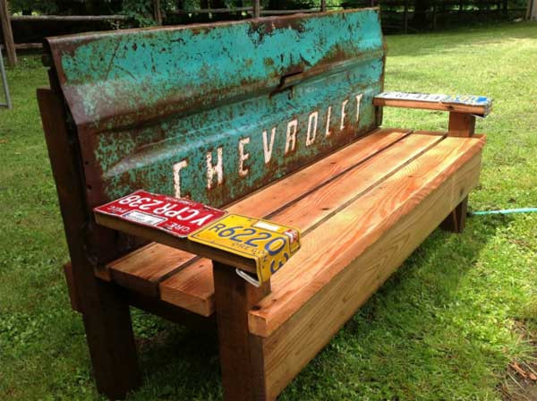 Best ideas about DIY Wood Bench . Save or Pin 35 Popular DIY Garden Benches You Can Build It Yourself Now.