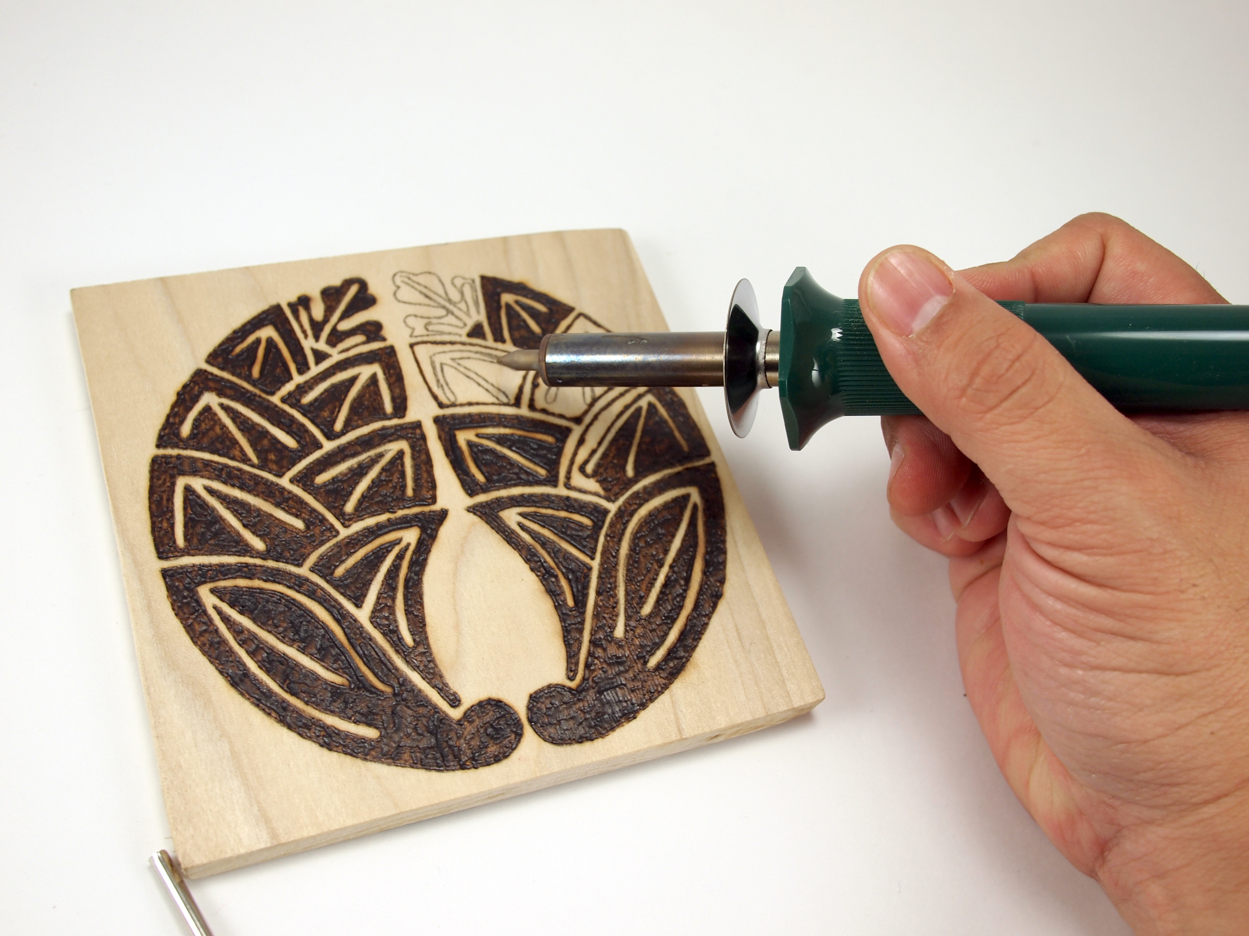 Best ideas about DIY Wood Burning . Save or Pin DIY Pyrography Coaster – igiri Everyday Now.