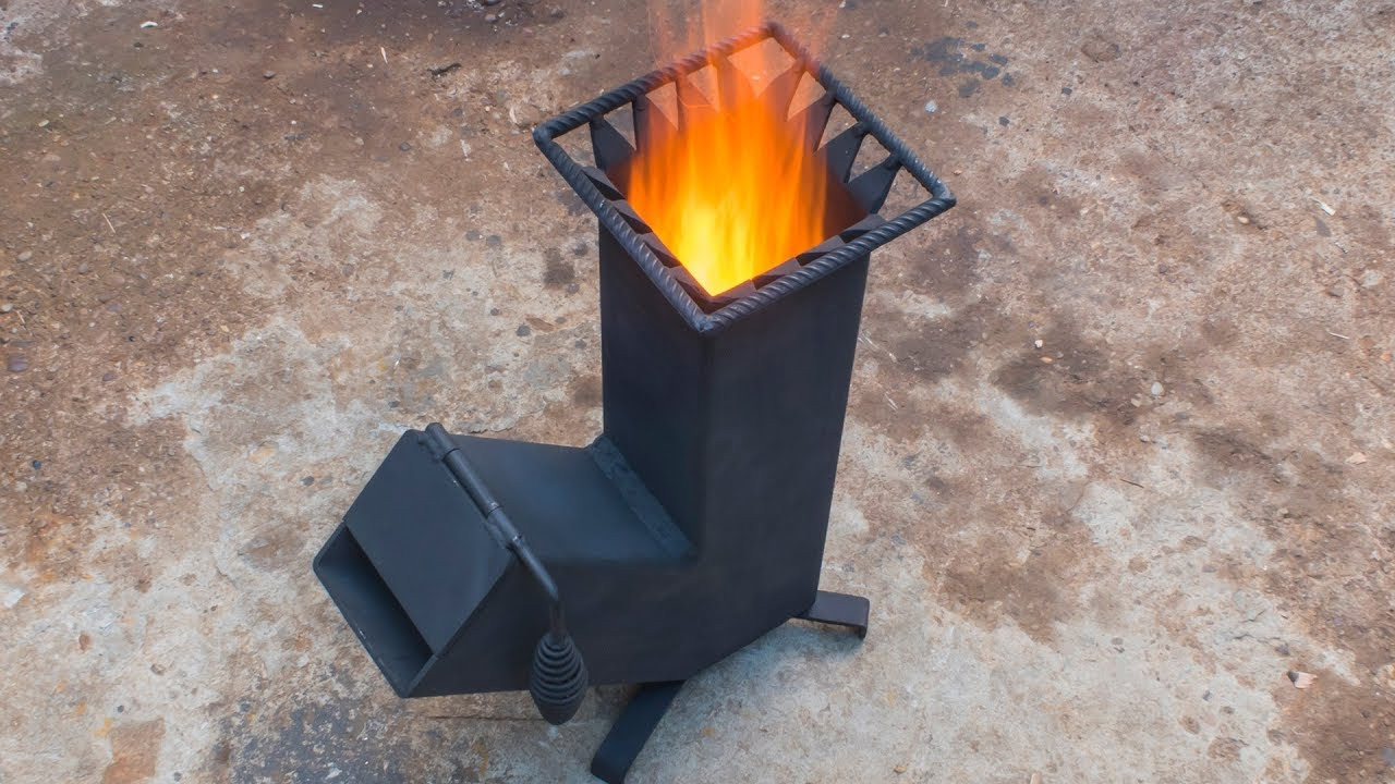 Best ideas about DIY Wood Burning . Save or Pin Homemade wood burning Rocket stove Now.