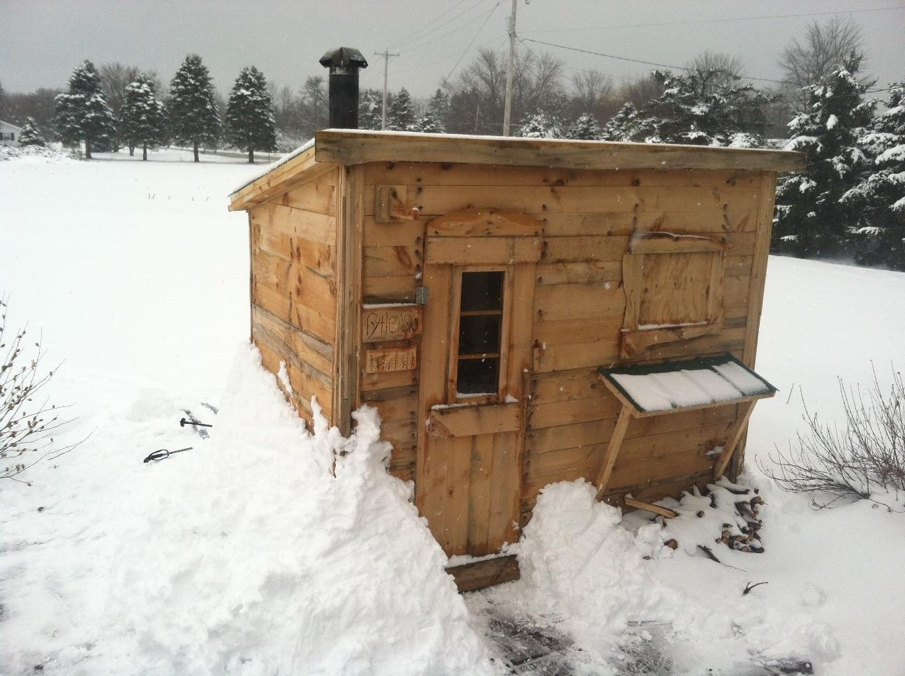 Best ideas about DIY Wood Burning . Save or Pin Wood Burning Sauna DIY 2 Now.