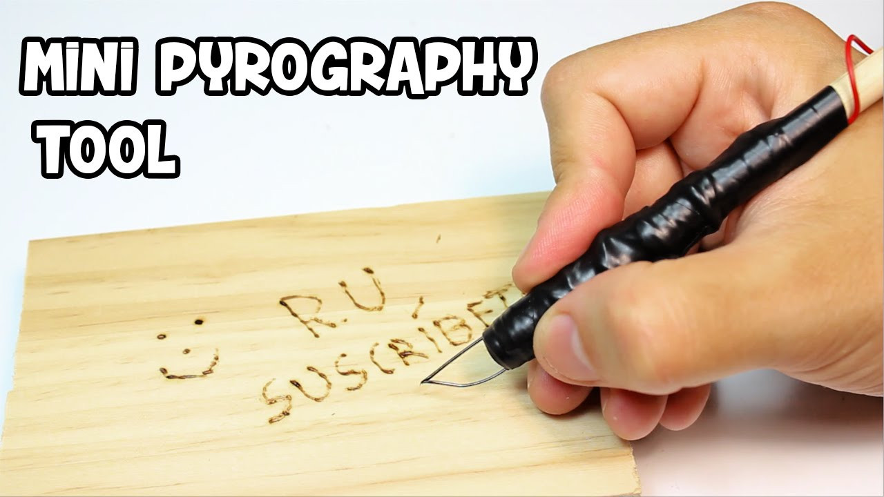Best ideas about DIY Wood Burning Tool . Save or Pin How to Make a Mini Pyrography Pen Now.