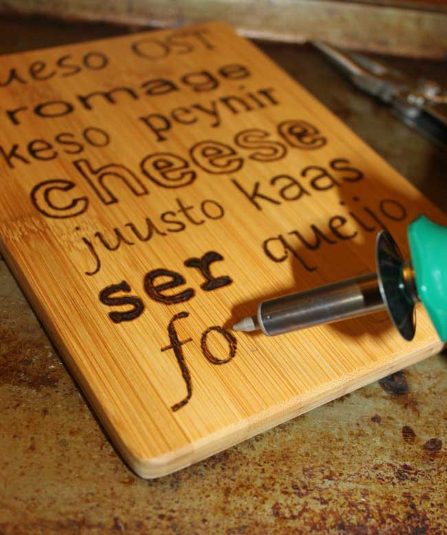 Best ideas about DIY Wood Burning Tool . Save or Pin DIY Personalized Cutting Boards Sometimes Homemade Now.