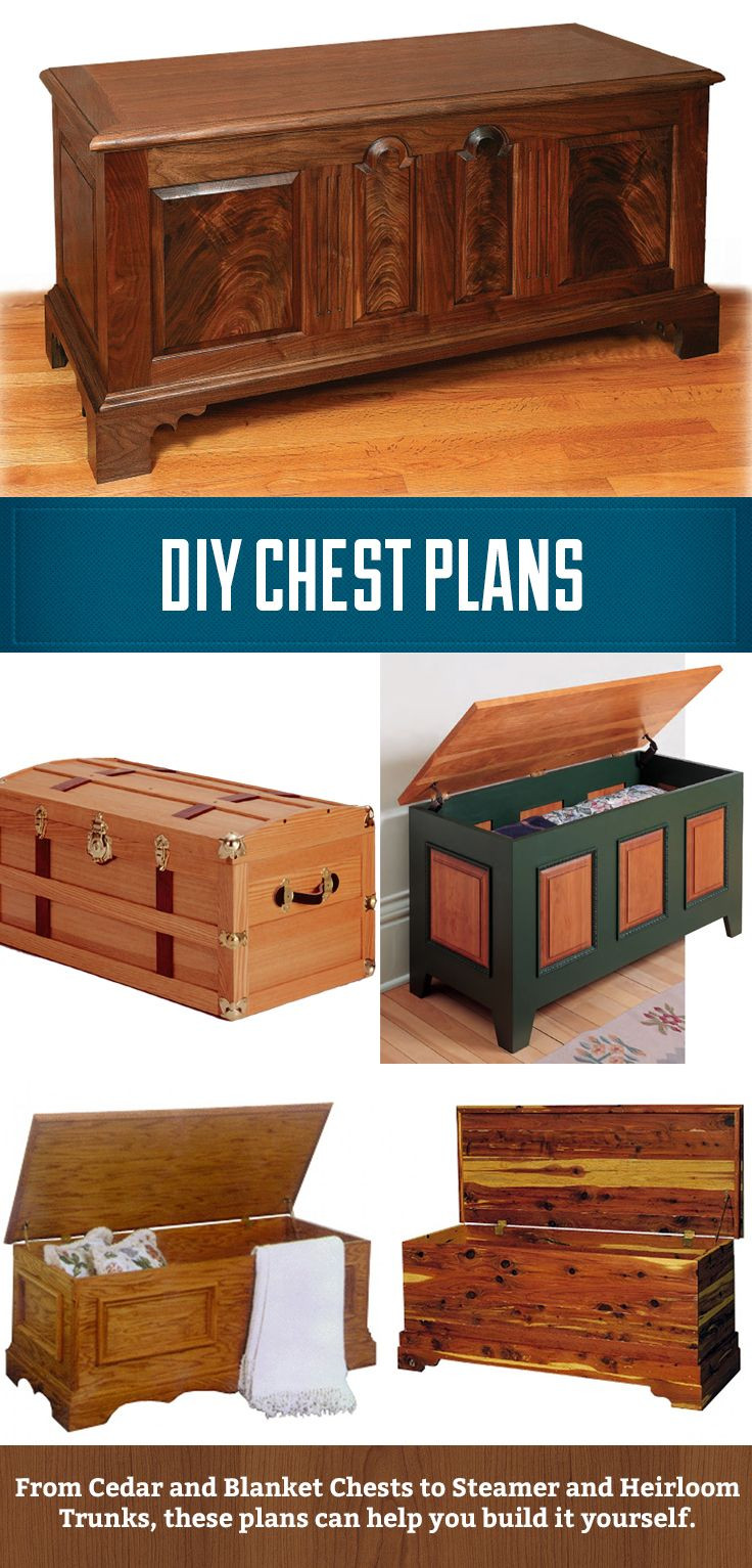 Best ideas about DIY Wood Chest Plans . Save or Pin DIY Chest Plans from cedar and blanket chests to heirloom Now.